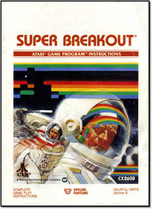 Super Breakout Manual Cover