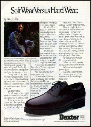 Dan Bricklin Shoes Ad