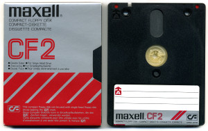 3-Inch Compact Floppy Disk