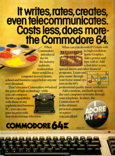 Commodore 64 Advertisement
