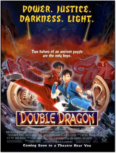 Double Dragon Movie Ad - 1994
