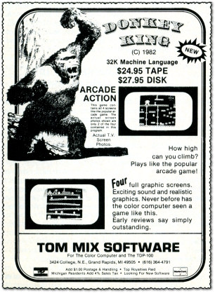 Donkey King Advertisement