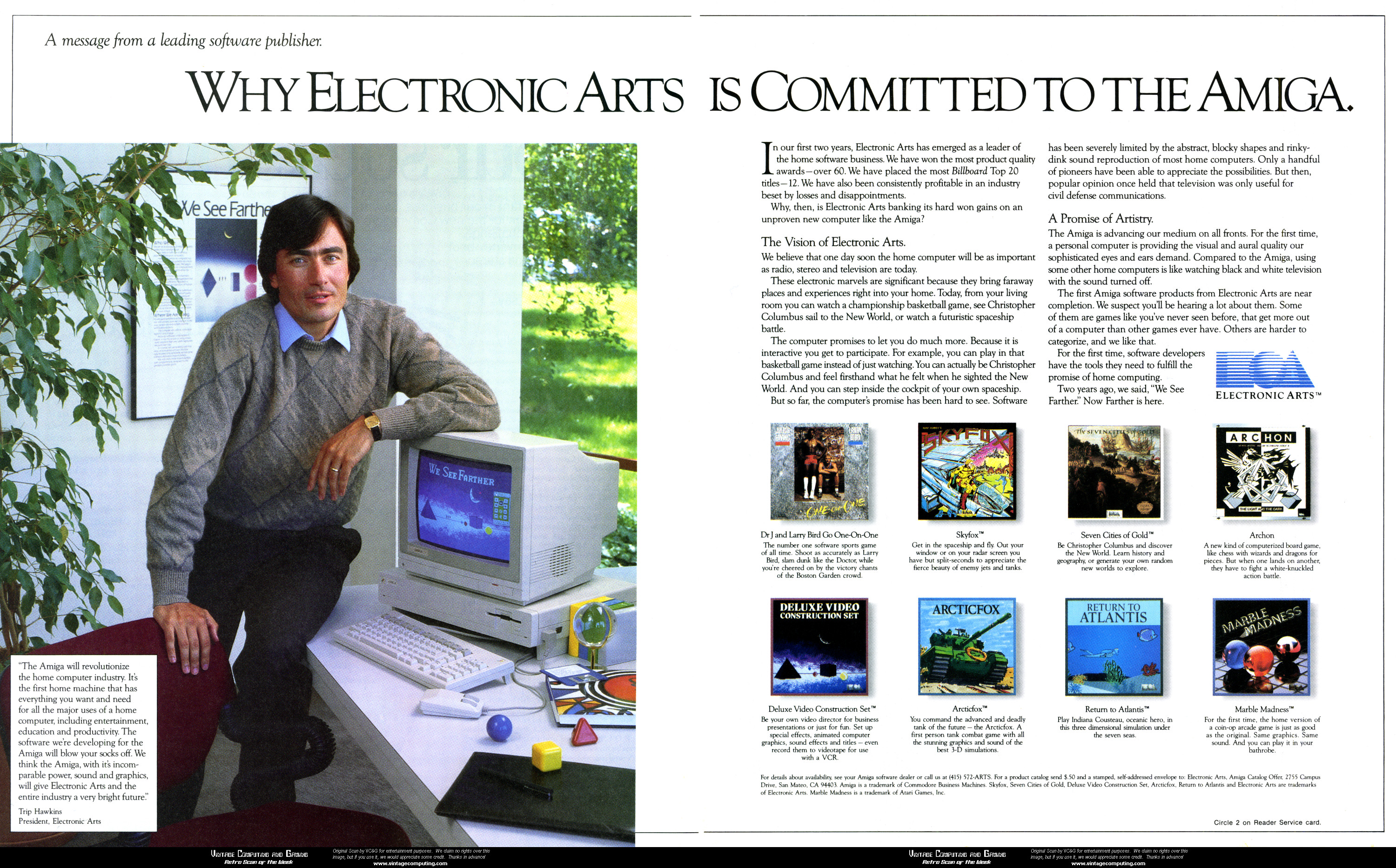 VC&G | » [ Retro Scan of the Week ] When EA Wasn't Evil