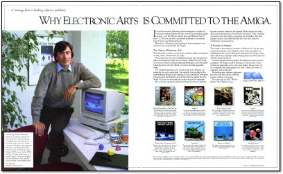 Why Electronic Arts is Committed to the Amiga Ad - 1985