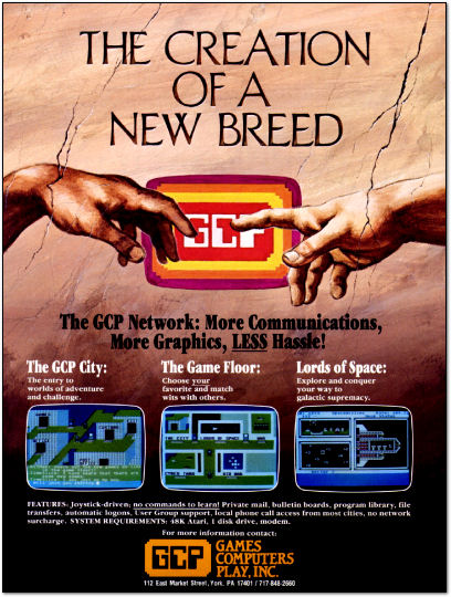 Games Computers Play Ad - 1985