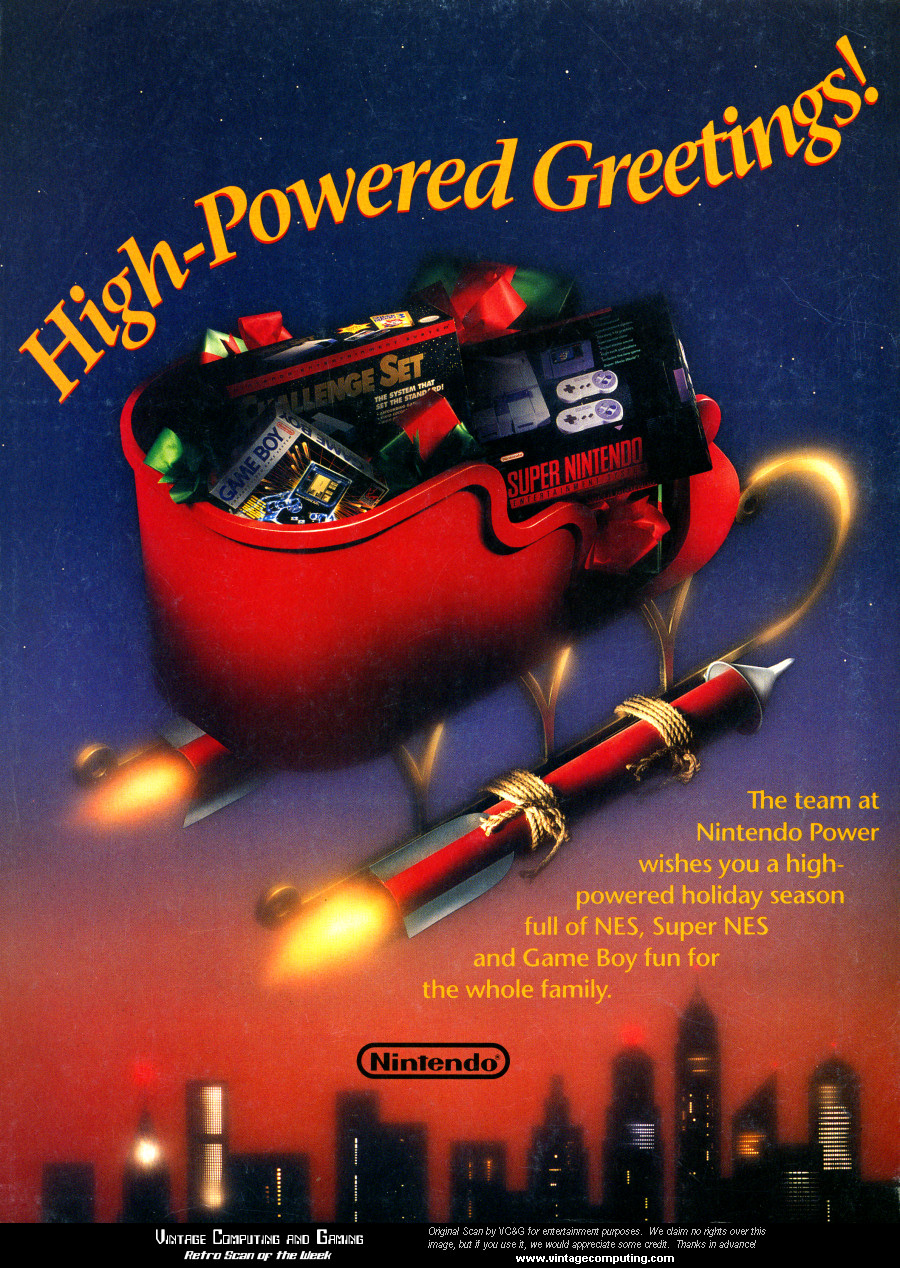 VC&G | » [ Retro Scan of the Week ] A High-Powered Christmas