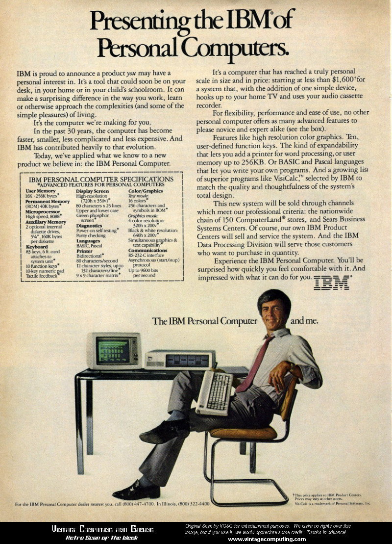 IBM Archives: Vintage views of IBM ads