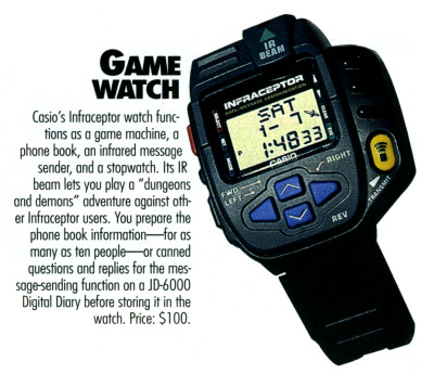 Infraceptor Watch Ad - 1995