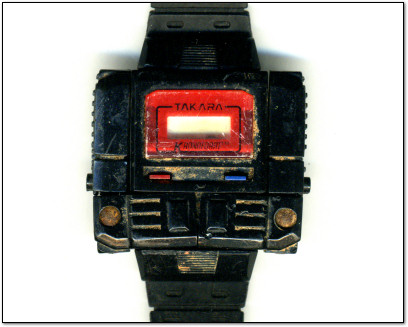 Benj's Dirty Transforming Takara Kronoform Robot Watch - circa early 1980s