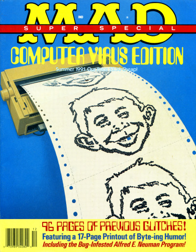 Mad Super Special Summer 1991 Computer Virus Edition Cover