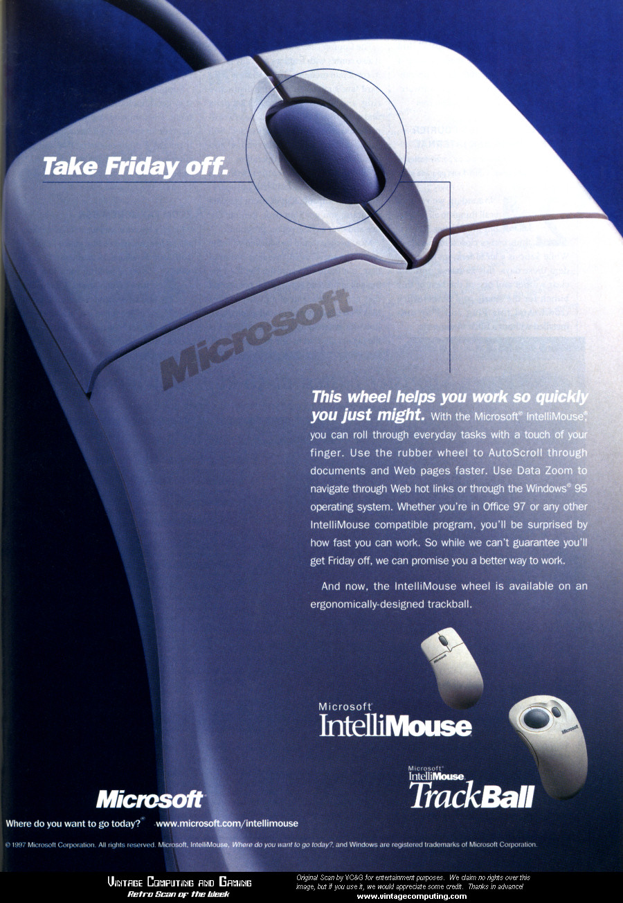 VC&G | » [ Retro Scan of the Week ] Advent of the Mouse Wheel