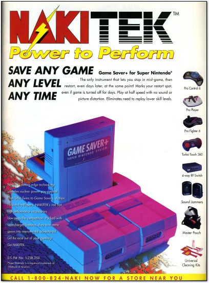 NakiTek Game Saver+ SNES