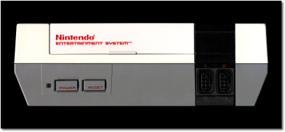Nintendo Entertainment System Face Front Scan - 1985