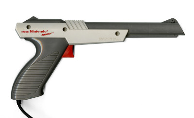 Nintendo NES Zapper Light Gun Scan - Zapper ca.1985