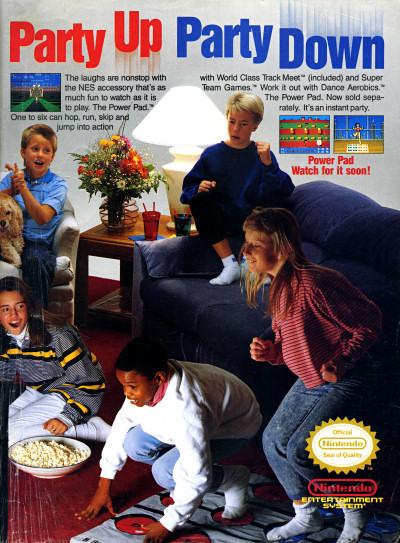 Vc Amp G 187 Retro Scan Of The Week Nintendo Power Pad