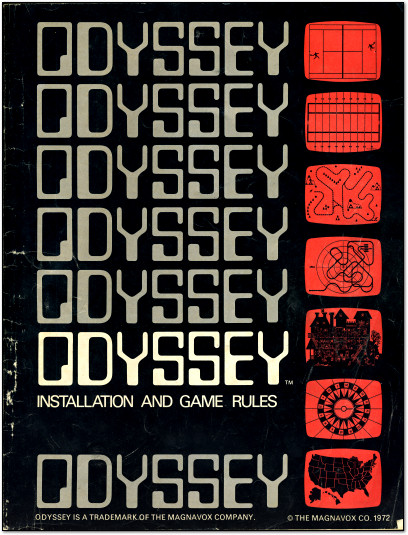 Magnavox Odyssey Manual Cover Scan - 1972