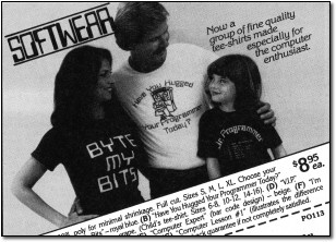 Byte my Bits - Vintage Computer T-Shirts
