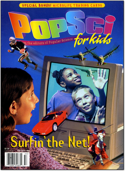 PopSci for Kids September-October 1995 Cover