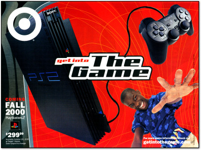 PlayStation 2 Launch Ad by Target - 2000