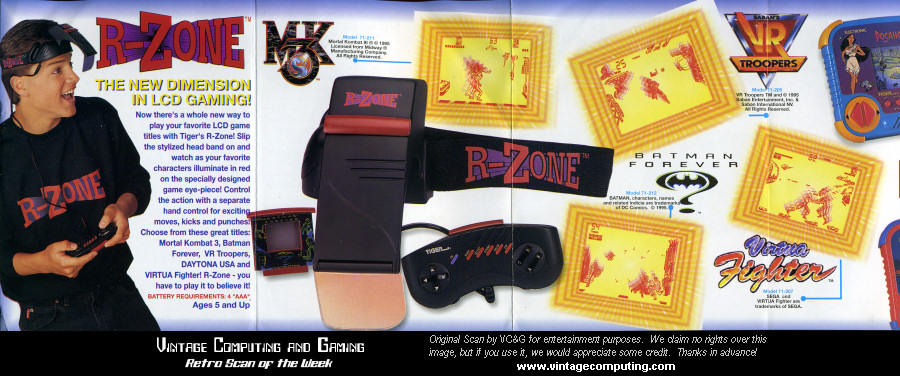 VC&G | » Retro Scan of the Week: Tiger's R-Zone — the ...