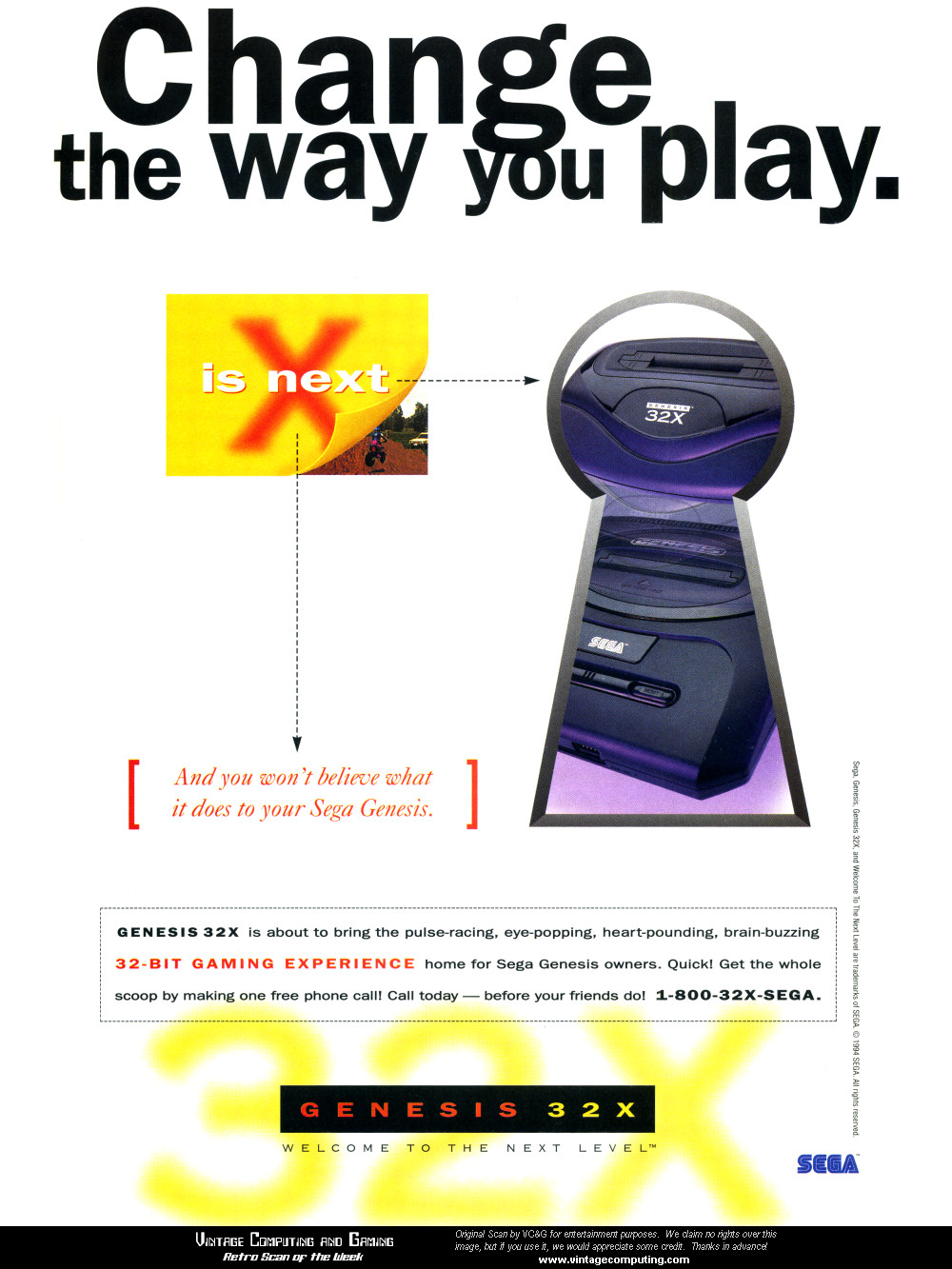 32X: 6 times more powerful than 3DO  40 times more powerful