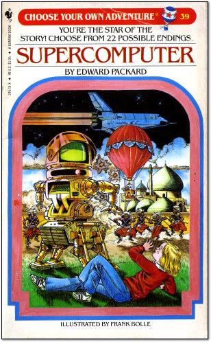 The cover of the Choose Your Adventure book