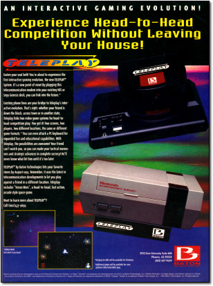 Baton Teleplay Modem Advertisement