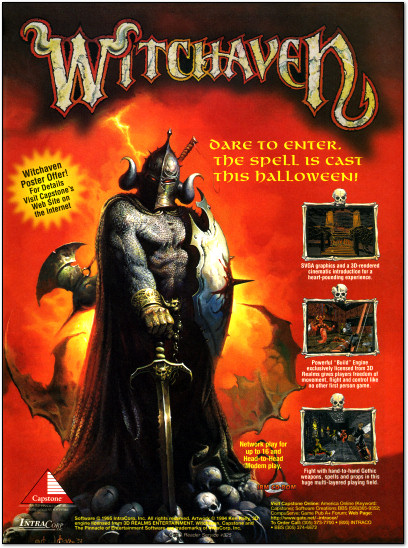 Witchaven PC Ad - 1995