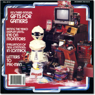 Electronic Games December 1983 Cover