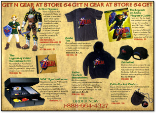 Zelda Ocarina of Time Merchandise