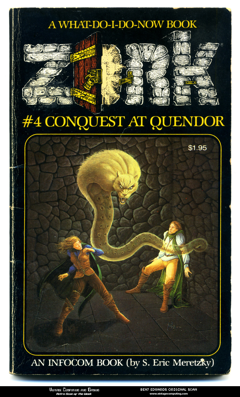 Vc Amp G 187 Retro Scan Of The Week Choose Your Own Zork