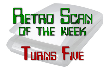 Retro Scan of the Week Turns Five