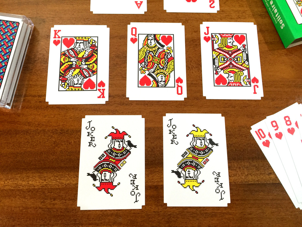 Areaware Windows Solitaire Cards Jokers Photos by Benj Edwards