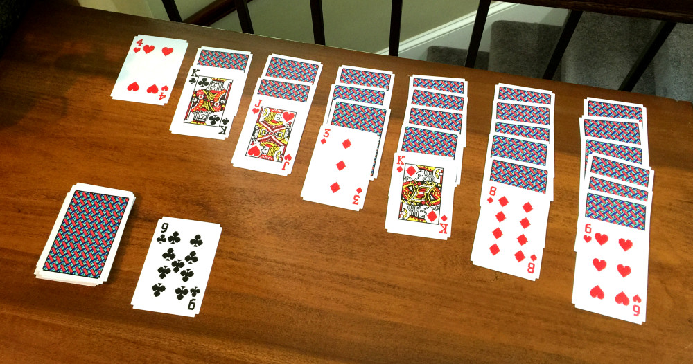 Areaware Windows Solitaire Cards Photos by Benj Edwards