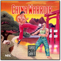 China Warrior TG-16 Cover Art