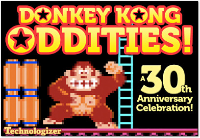 Donkey Kong Oddities on Technologizer