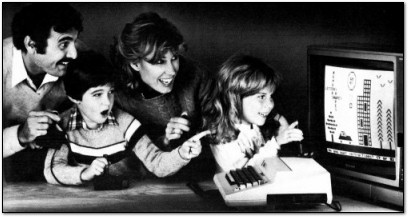 A 1980s Home Computer Family Celebration on Technologizer