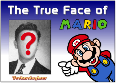 The True Face of Mario on Technologizer