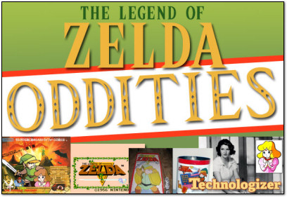 The Legend of Zelda Oddities on Technologizer