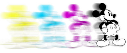 Mickey Mouse Copyright Blur