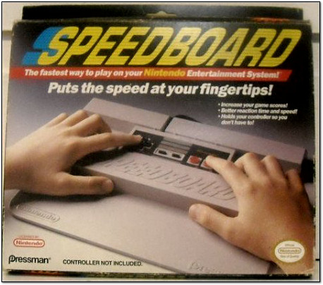 NES SPEEDBOARD IS THE SPEED