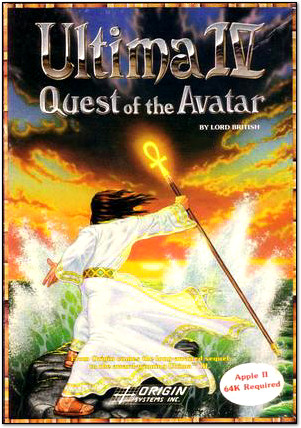 Ultima IV Box Cover