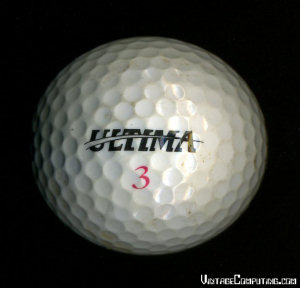 Official Ultima III Golf Ball