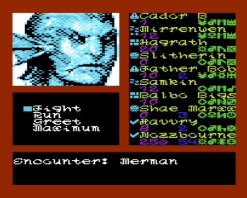 VIC-20 Realms of Quest V Screenshot