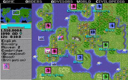 Sid Meier's Civilization I for MS-DOS Screenshot