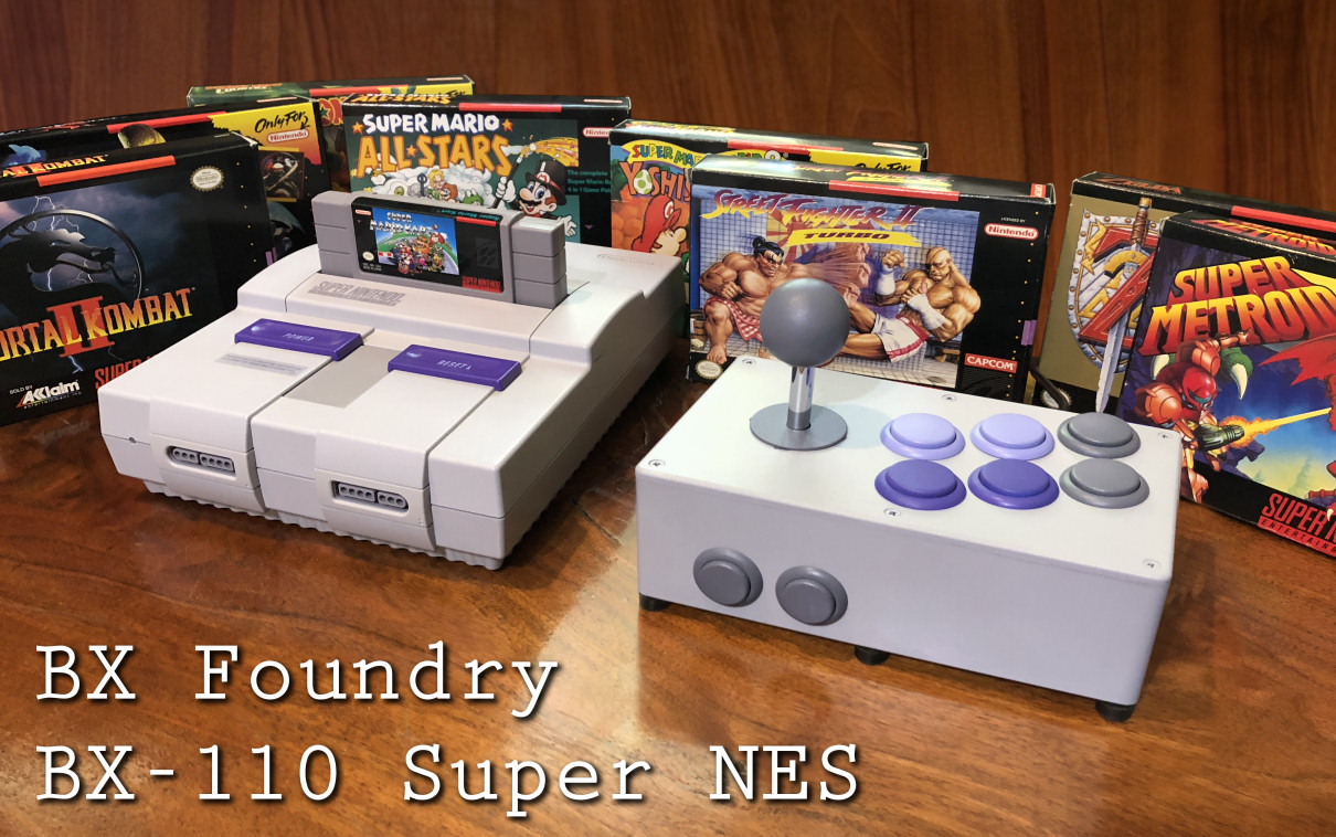 BX Foundry BX-110 Super NES Stick by Benj Edwards