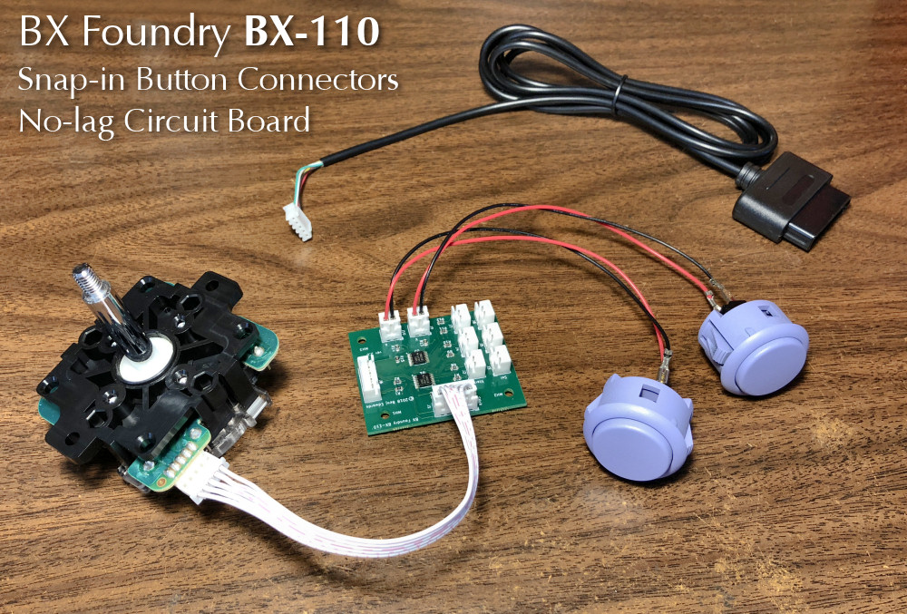 BX Foundry BX-110 Custom Circuit Board