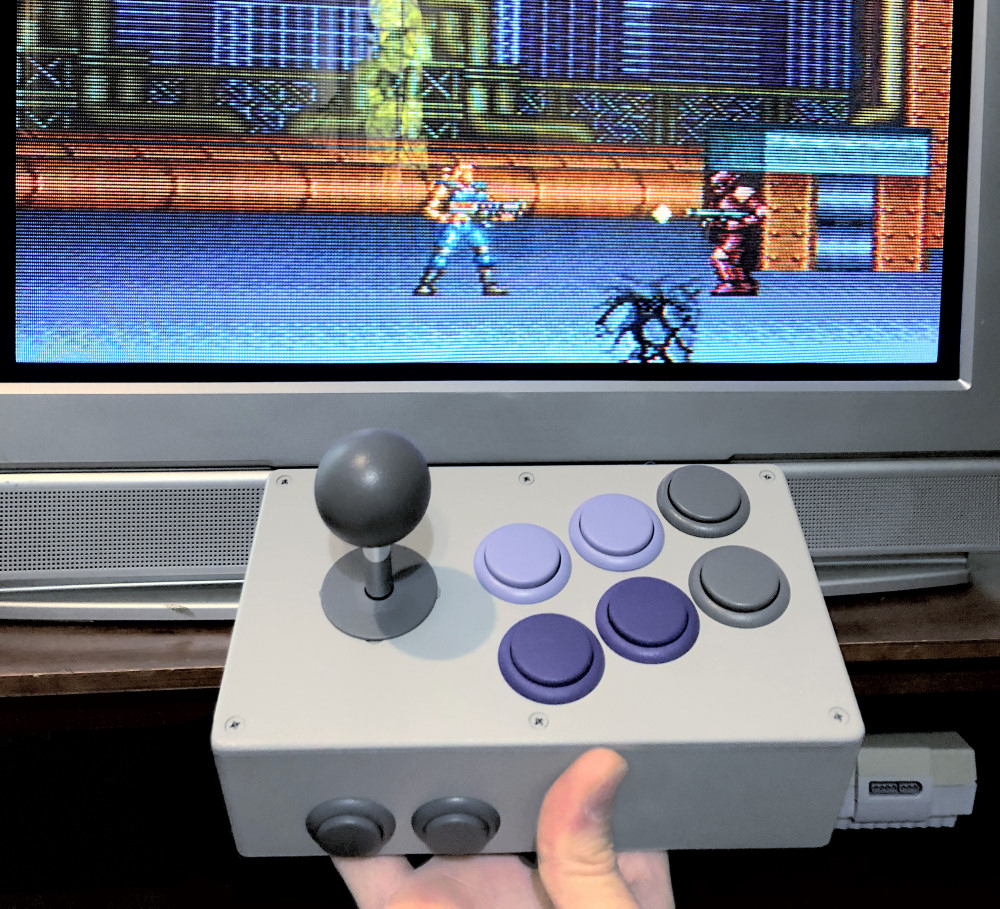 BX Foundry BX-110 Super NES Stick with Super C