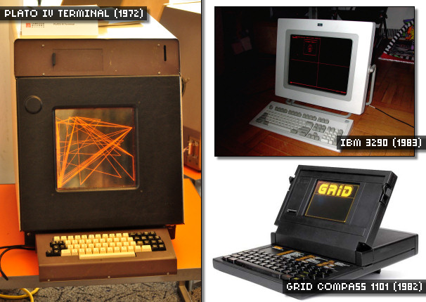 Early Computer Plasma Displays