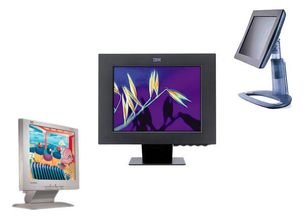 Early Desktop LCDs monitors